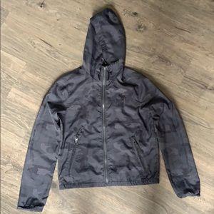 Abercrombie rain jacket